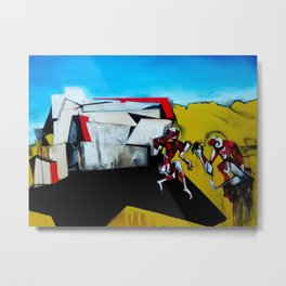 It's the Thinness of your Shadow Metal Print