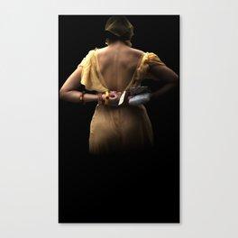 She's Come Undone Canvas Print