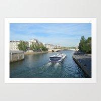 Seine River Art Print
