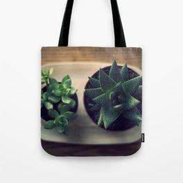 Green Plants Tote Bag