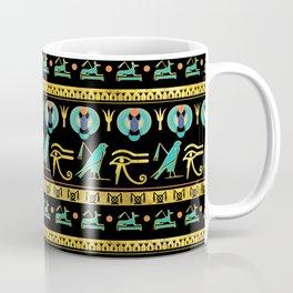 Egyptian  Ornament Symbols Pattern Coffee Mug