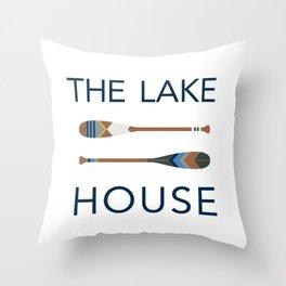 The Lake House Throw Pillow