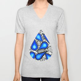 Tangle in the rain Unisex V-Neck