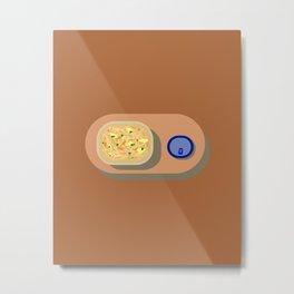 Chicken Noodle Soup Metal Print