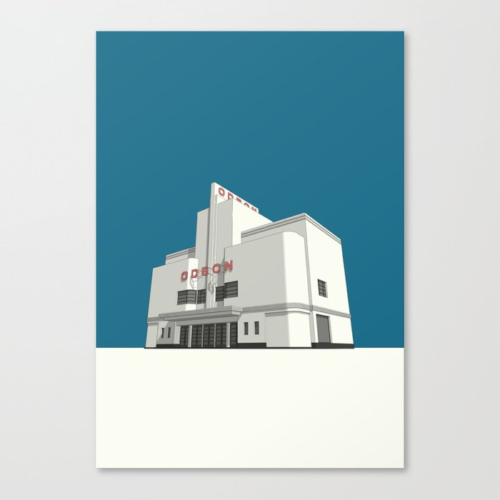 ODEON Balham Canvas Print