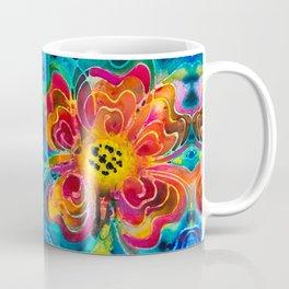Summer Love Flower Art By Sharon Cummings Coffee Mug