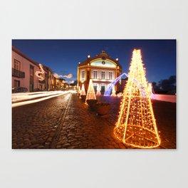 Christmas in Ribeira Grande Canvas Print
