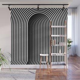 Hidden door Wall Mural