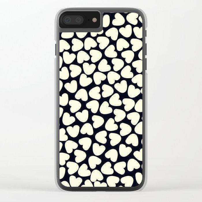 Love Pattern  Clear iPhone Case