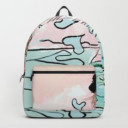 Country Heart on Palm Beach Backpack