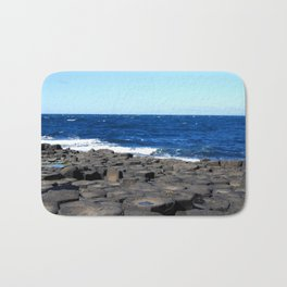 Gigant's Causeway. Antrim Coast. Northern Ireland Bath Mat