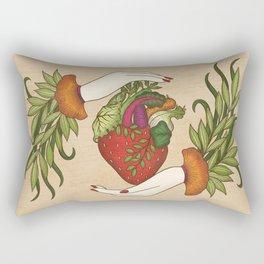 Eating is caring Rectangular Pillow