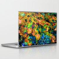chandelier Laptop & iPad Skins featuring Chandelier by Peta Herbert