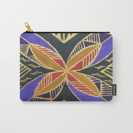 Contemporary Tapa Carry-All Pouch