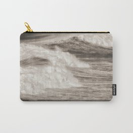 Destined Ocean waves breaking Carry-All Pouch