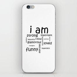I Am... iPhone Skin