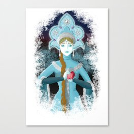 Snow Maiden Canvas Print