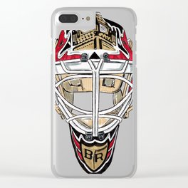 Rhodes - Mask Clear iPhone Case