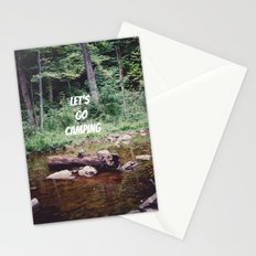 Let's Go Camping II Stationery Cards