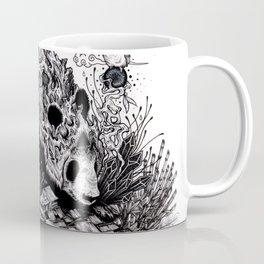 Land of the Sleeping Giant (ink drawing) Coffee Mug