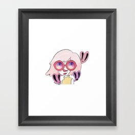 Kaleidoscopic Pinkvision Framed Art Print