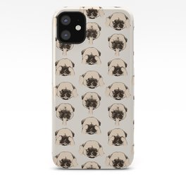 No Evil Pug iPhone Case