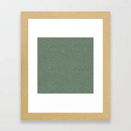 Butterfly blossom green Framed Art Print