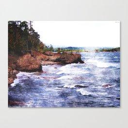 Upper Peninsula Landscape Canvas Print