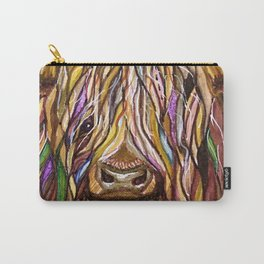 Wee Hairy Highlin Coo Carry-All Pouch