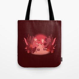 Squirrels in Love Tote Bag