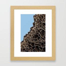 Breaking Down Framed Art Print