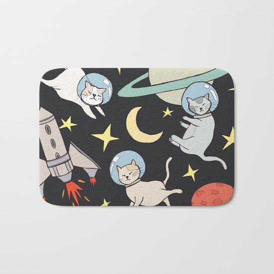 cosmo cats Bath Mat