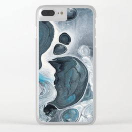 Swept Away-pt.III Clear iPhone Case