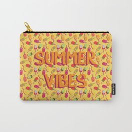 Summer vibes and fruit popsicles #society6 #decor #buyart Carry-All Pouch