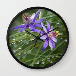 Meadow Dew Wall Clock