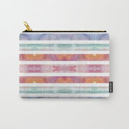 Watercolor Abstract Sunset Pattern Carry-All Pouch