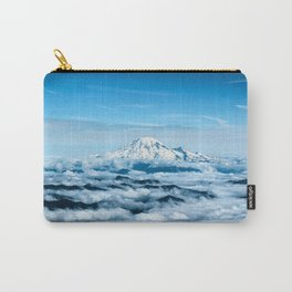 Mount Rainier Above the Clouds Carry-All Pouch