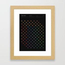 Polka in Space (3) Framed Art Print