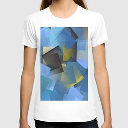 Cubism Abstract 186 T-shirt