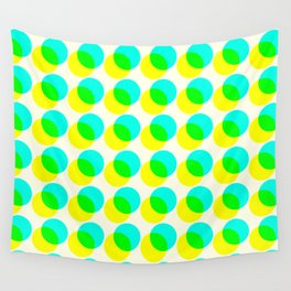 dots pop pattern 3 Wall Tapestry
