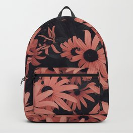 Peach SunFlowers Backpack
