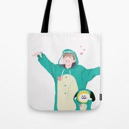 Dinosaur Chimmy (Ver. 2) Tote Bag