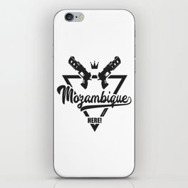 Mozambique Here! iPhone Skin