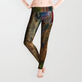 Italian Graffiti - Venice Leggings