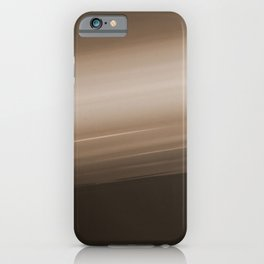 Sepia Brown Ombre iPhone Case