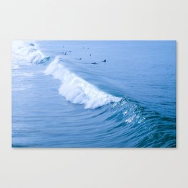 Waiting for the Perfect Wave Canvas Print