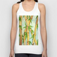 bamboo Tank Tops featuring Bamboo by William Gushue