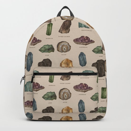 Gems and Minerals Backpack