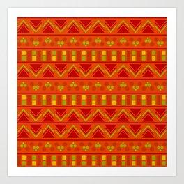Indian Designs 20 Art Print