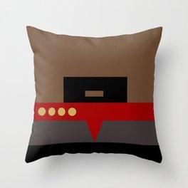Captain Sisko - Minimalist Star Trek DS9 Deep Space Nine - Trektangle - Trektangles startrek Throw Pillow